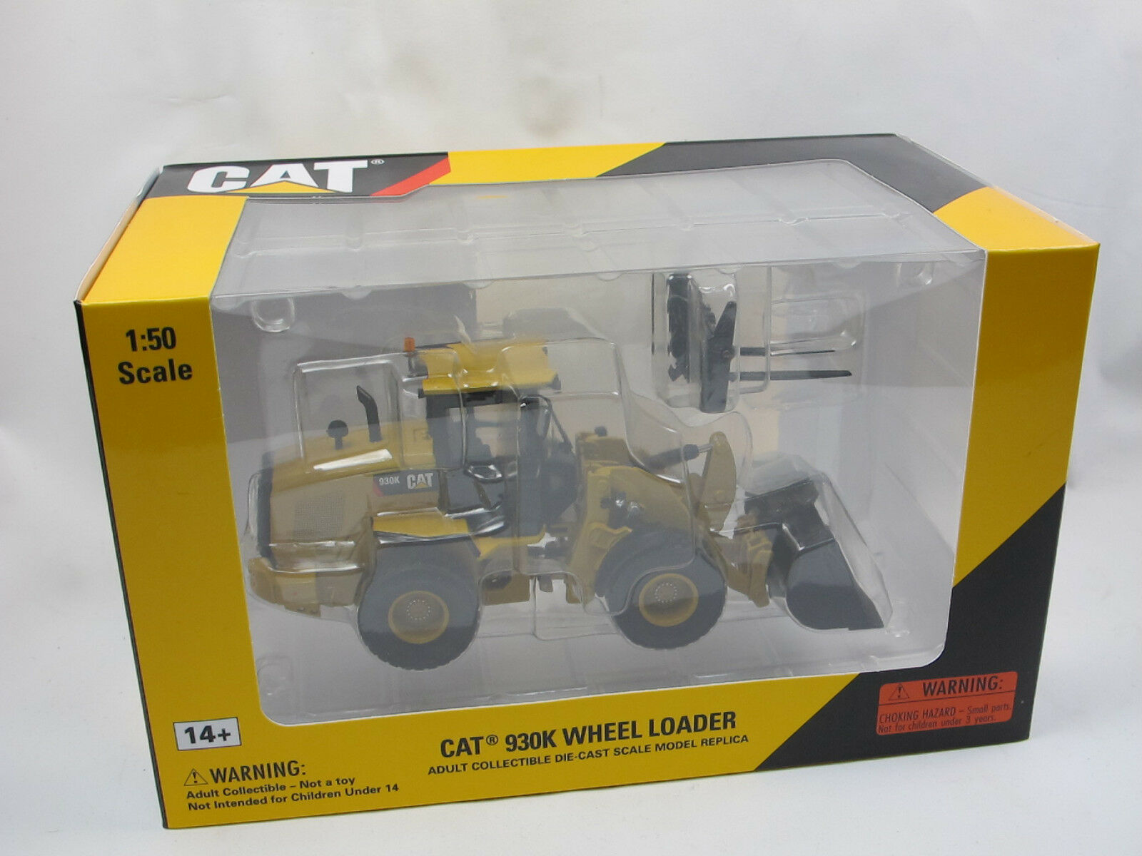 Norscot 55266 Cat 930k tobogán Wheel Loader pala horquilla reemplazables 1 50 nuevo
