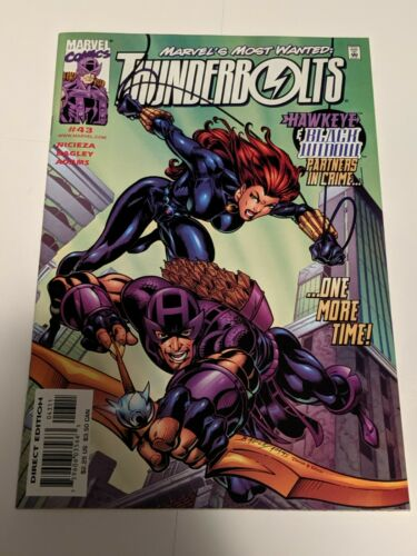 Thunderbolts #50 May 2001 Marvel Comics Nicieza Bagley Adams
