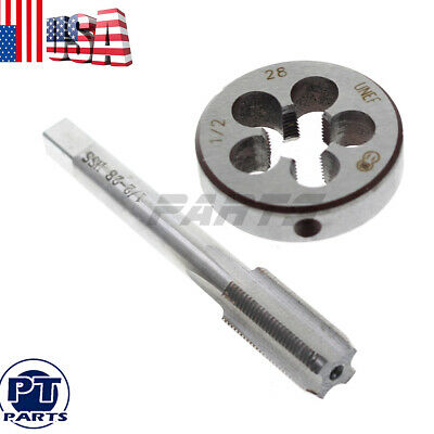 Metalworking Thread Die Right Hand Cutting Alloy Tool Steel 1 inch-24 TPI