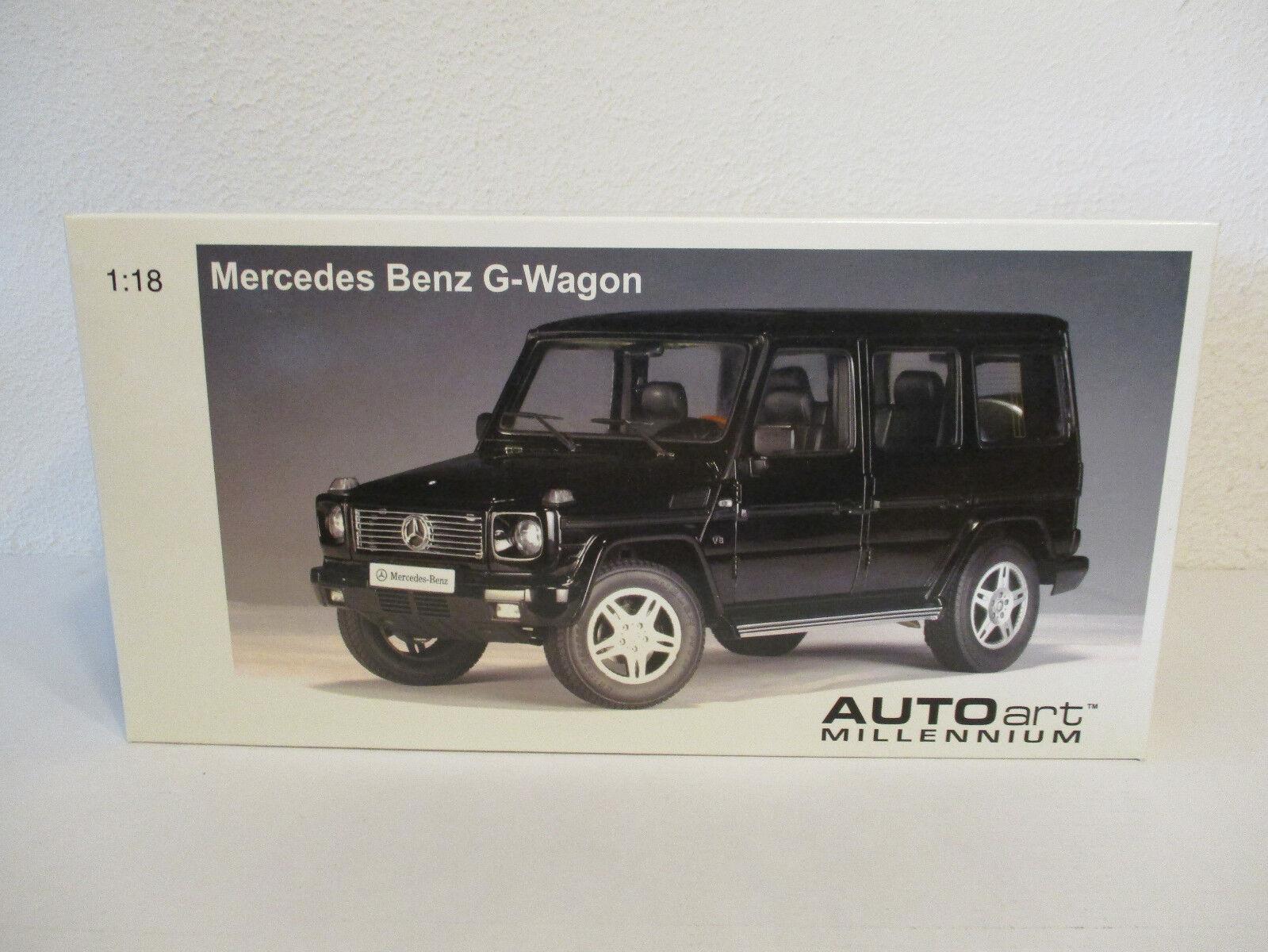 (Gol ) 1 18 Autoart Mercedes Benz G 500 Lwb New Original Package