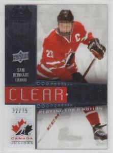 2014-15-UD-CANADA-JUNIORS-SAM-REINHART-CLEAR-CUT-75-PLAYING-NATION-Upper-Deck
