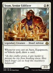Sram-Senior-Edificer-Foil-x1-Magic-the-Gathering-1x-Aether-Revolt-mtg-card