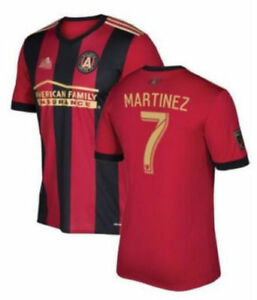first rate big sale great deals 2017 NEW Atlanta United home SoccerJersey Adidas replica Martinez #7 ...