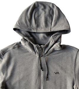Men-039-s-RVCA-Heather-Gray-Hoodie-Hooded-Sweatshirt-Medium-M-NWT-NEW-80-Nice