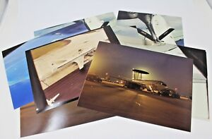 Vintage-United-States-Air-Force-Luftwaffe-KC-135-Refueling-Airplane-Photo-Lot-9
