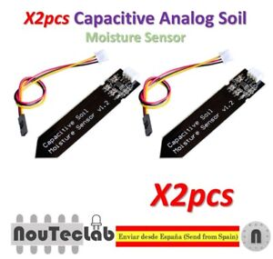 Capacitive Soil Moisture Sensor Corrosion Resistant Gravity 3-Pin Interface