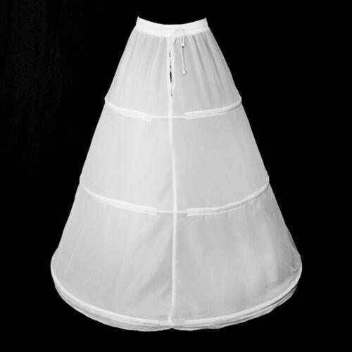 Crinoline Jupon Jupon Taille 32-60 3 anneaux blanc noir avec//sans tulle lafairy
