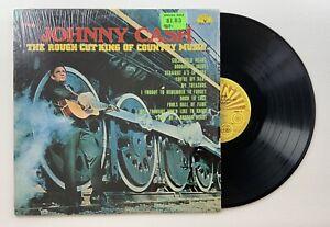 JOHNNY CASH The Rough Cut King of Country Music - Vinyl LP 1970 SUN-122 Shrink