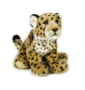 Jaguar-soft-plush-toy-11-034-28cm-National-Geographic-stuffed-animal-NEW