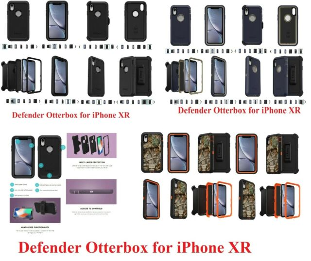 Brand new iPhone XR Defender Otter Box Without belt clip and package (Only Case)