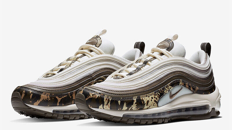Details about WOMEN'S NIKE AIR MAX 97 PREMIUM UK 8US 10.5EU 42.5 SAFARI ANIMAL PACK BROWN
