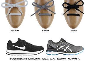 Caricamento dell immagine in corso Lacci-stringhe-per-scarpe-running-tondi- ovali-ideali- 56e68441047
