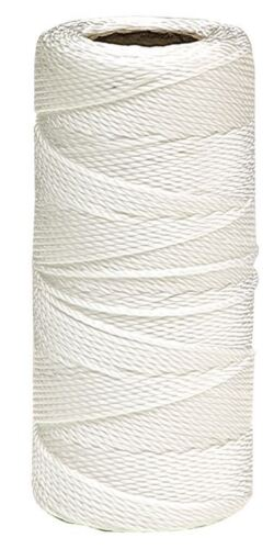 12H Nylon Cord Roll White 100M Garden String Cord Jewellery Beading Parcel Craft