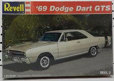 SCAT PACK 69 MOPAR DART BOYS 1969 GTS 383 DODGE REVELL SEALED MODEL KIT