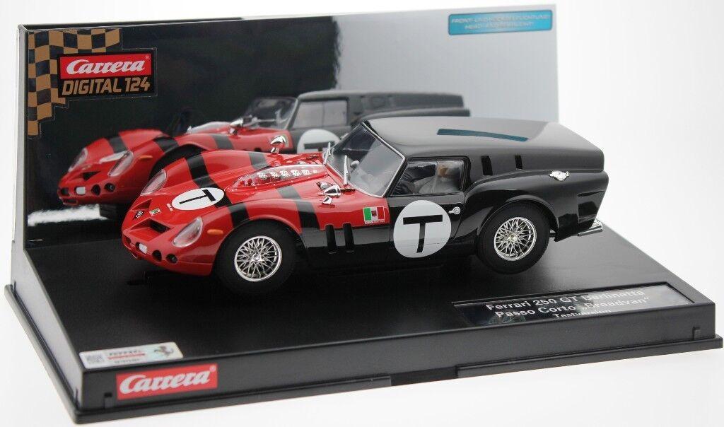 Carrera Digital 124 23771 Ferrari Ferrari Ferrari 250 GT  Breadvan  Monaco Testcar 1962  | Qualität und Verbraucher an erster Stelle  230f79