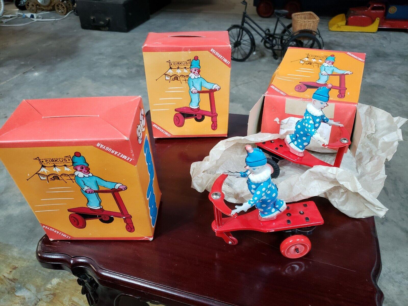 ビンテージ3 Tinは、ボックススズおもちゃでロリZoliサーカス