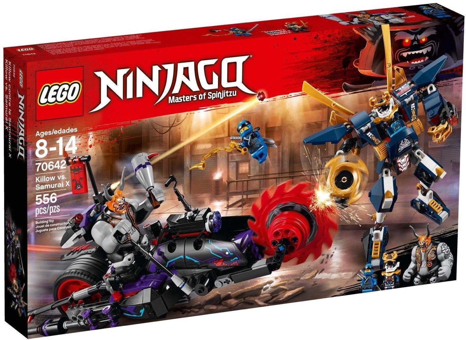 LEGO NINJAGO KILLOW CONTRO SAMURAI X X X - LEGO 70642 f3c00a