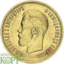 F305) Russia 10 rubli 1899-Nicola II. 1894-1917 - ORO