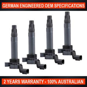 4-x-Ignition-Coil-for-Holden-Barina-Spark-MJ-1-2L-Chevrolet-Spark-Vehicle-1-2L