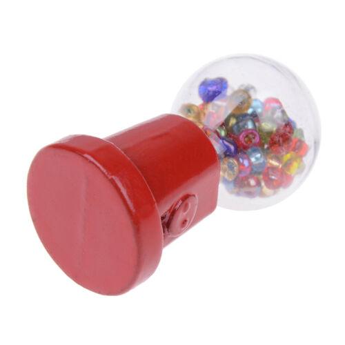 1:12 Maison de poupées miniature machine à bonbons décor de maison de poupée:D