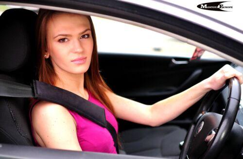Voiture seat belt pads noir