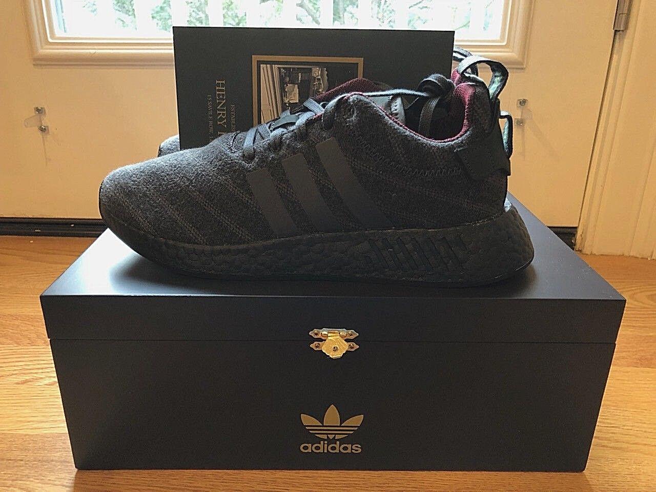 Adidas X Henry Poole X Size? NMD R2 US 8.5, 9.5 Saville Row Shoe