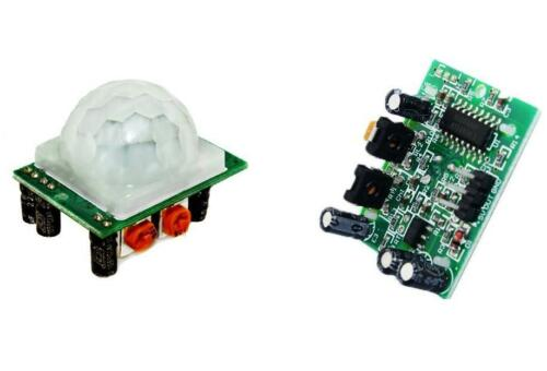 Hc-sr501 ajustar ir Pyroelectric Infrarrojo Pir Sensor De Movimiento Detector módulo
