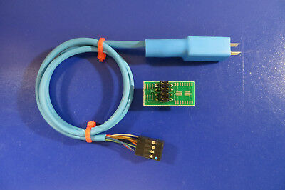 SOIC8 Pogo Pin EEPROM Adapter For Carprog A6 with ***guide cap***
