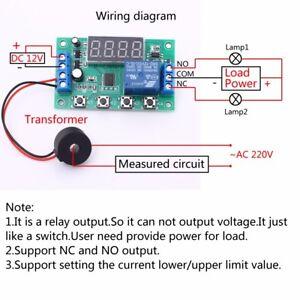 Details about Current Detection Module Overcurrent Protection Board Current  Sensor Transformer