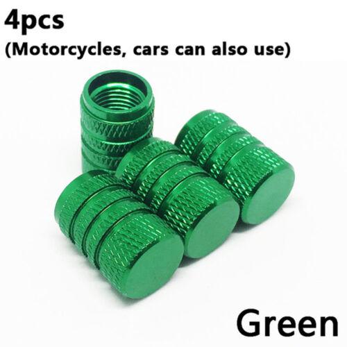 New 4Pcs Tyre Valve Cap Dust Cover Wheel Rim Tire Bike Motorcycle Accessories