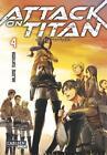 Attack on Titan 04 von Hajime Isayama (2014, Taschenbuch)