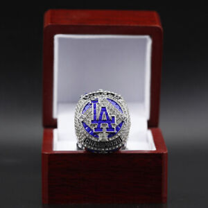 2020 LA Dodgers World Series Ring Mookie Betts Championship Ring With Box