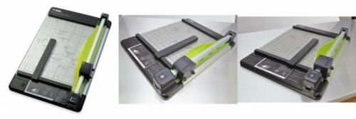 CARL Heavy Duty Rotary Paper Trimmer 18inch Black//Silver 12238 18-Inch