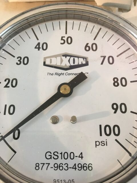 Dixon Boss Gauge GS100-4 O//100 PSI NEW