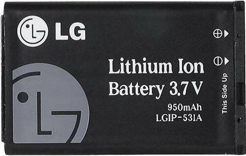 NEW LG OEM Original Replacement 950mAh OEM Battery (LGIP-531A)