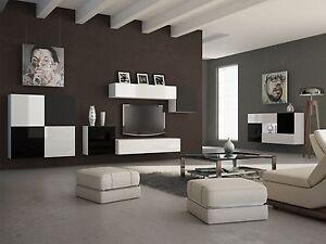 Das Bild Wird Geladen Wohnzimmer Set Wohnwand Set TV Wand ALFA