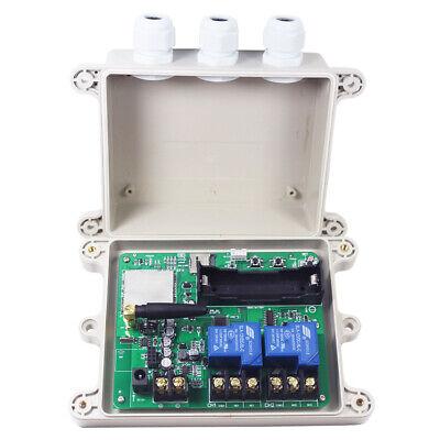 DC 12V 10A 2CH RF Wireless Remote Control Switch System Transmitter //KT