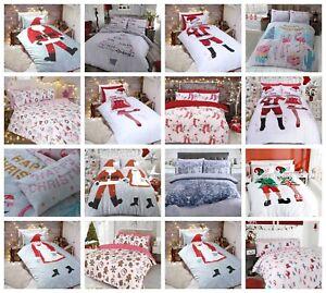 Dress-Up-amp-Elf-usted-mismo-Funda-De-Edredon-Fundas-Almohada-Juego-De-Cama-Individual-Doble-King
