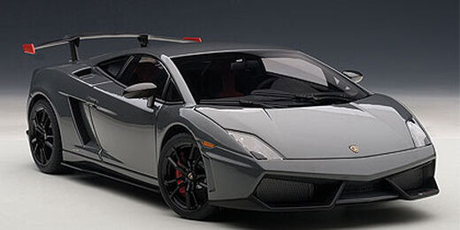 Lamborghini Gallardo LP570 Supertrofeo Stradale grey 1 18 AutoArt 74692