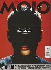 MOJO MUSIC MAGAZINE #91 JUN 2001 RADIOHEAD JOEY RAMONE BOB DYLAN 16-PAGE FEATURE