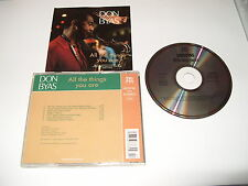 Don Byas - All The Things You Are -7 TRACKS -   - FASTPOST CD