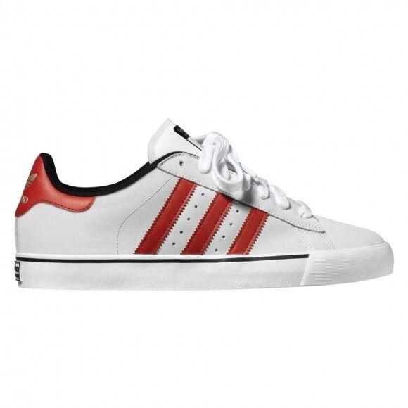 Adidas CAMPUS VULC Running Blanco (205) Uni Rojo Negro Discounted (205) Blanco Hombre Zapatos abc409