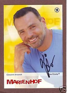 Giovanni-ARVANEH-dt-Schauspieler-034-Marienhof-034-Original-Autogramm