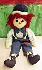 VTG-Raggedy-Andy-Doll-Unicorn-Merchandise-Group-Large-25-034-Rustic-Ann