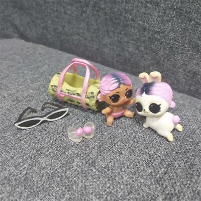 LOL Surprise Doll LIL JET SET QT /& JET SET HOP HOP Bunny Pet Series 5 toy gift