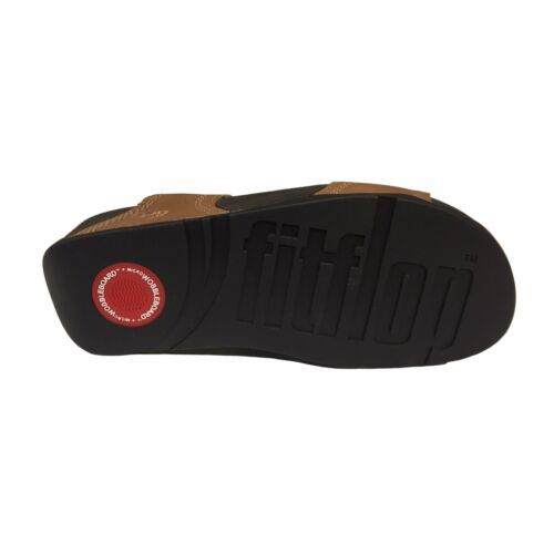 Cuoio Tan Scarpa Microwobbleboar Fit Plantare Positano Fitflop Toffee Flop Donna zXTt5