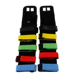 2ee9b106942c Image is loading Leather-Hand-Grip-Crossfit-Gymnastics-Guard-Palm-Protectors -