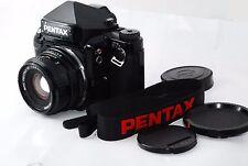 "Pentax 67II Medium Format SLR Film Camera with 90 mm f/2.8  ""Very Good"" #1088"