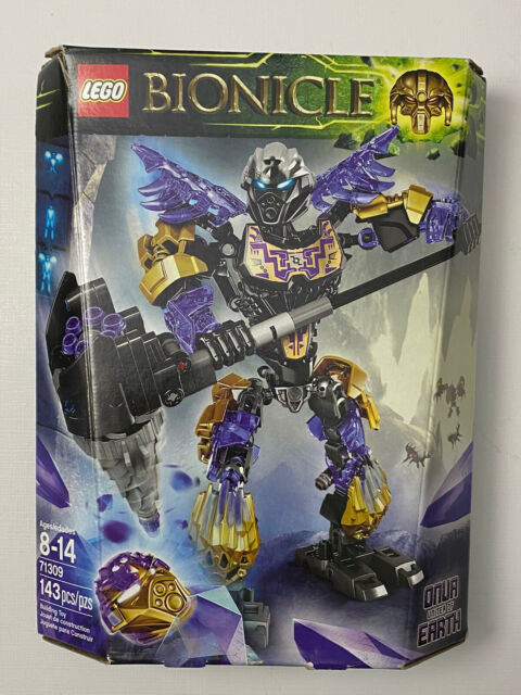 LEGO Bionicle Onua Uniter of Earth (71309) Minor Tear On Box