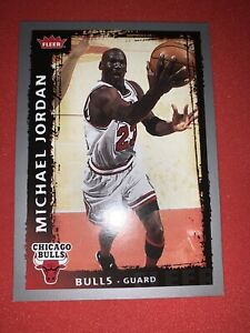 MICHAEL-JORDAN-2008-09-Fleer-Basketball-68-PSA-Chicago-Bulls-UNC